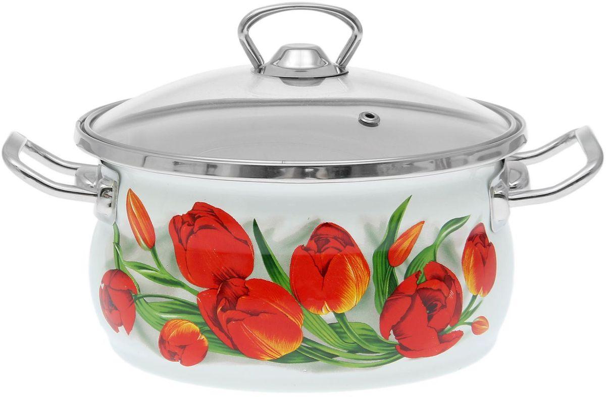 Кастрюля Epos Ласковый май, с крышкой, 2,5 л1770679Эмалированная кастрюля пригодится вам для быстрого приготовления разных типов блюд. Такая посуда подходит для домашнего и профессионального использования.Достоинства:посуда быстро и равномерно нагревается;корпус стоек к ржавчине;изделие легко отмывается в посудомоечной машине.Благодаря приятным цветам кастрюля удачно впишется в любой дизайн интерьера. Наилучшее качество покрытия достигается за счёт того, что посуда проходит обжиг при температуре до 800 градусов.Чтобы предмет сохранял наилучшие эксплуатационные свойства, соблюдайте правила ухода:избегайте ударов и падений;не пользуйтесь высокоабразивными чистящими средствами;не допускайте резких перепадов температуры.Посуда подходит для долговременного хранения пищи.