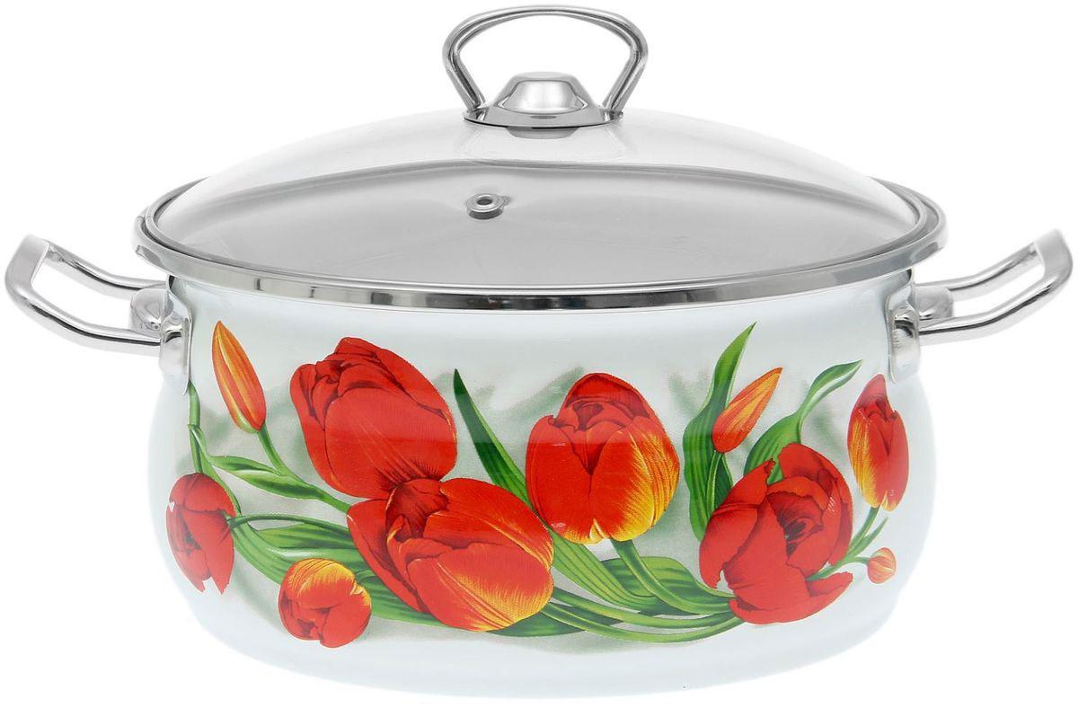 Кастрюля Epos Ласковый май, с крышкой, 3,5 л1770681Эмалированная кастрюля пригодится вам для быстрого приготовления разных типов блюд. Такая посуда подходит для домашнего и профессионального использования.Достоинства:посуда быстро и равномерно нагревается;корпус стоек к ржавчине;изделие легко отмывается в посудомоечной машине.Благодаря приятным цветам кастрюля удачно впишется в любой дизайн интерьера. Наилучшее качество покрытия достигается за счёт того, что посуда проходит обжиг при температуре до 800 градусов.Чтобы предмет сохранял наилучшие эксплуатационные свойства, соблюдайте правила ухода:избегайте ударов и падений;не пользуйтесь высокоабразивными чистящими средствами;не допускайте резких перепадов температуры.Посуда подходит для долговременного хранения пищи.