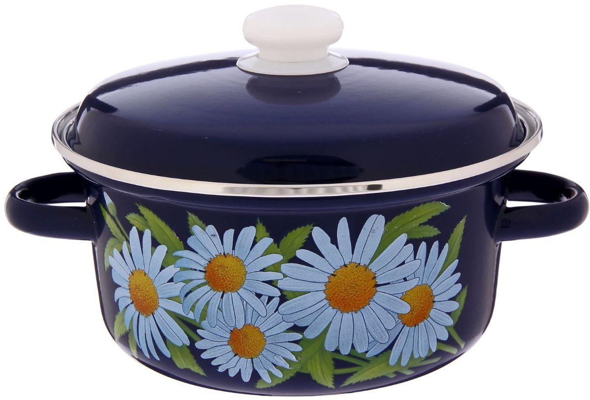 Кастрюля Epos Ромашка, 2 л. 22933422293342Эмалированная кастрюля пригодится вам для быстрого приготовления разных типов блюд. Такая посуда подходит для домашнего и профессионального использования.Достоинства:посуда быстро и равномерно нагревается;корпус стоек к ржавчине;изделие легко отмывается в посудомоечной машине.Благодаря приятным цветам кастрюля удачно впишется в любой дизайн интерьера. Наилучшее качество покрытия достигается за счёт того, что посуда проходит обжиг при температуре до 800 градусов.Чтобы предмет сохранял наилучшие эксплуатационные свойства, соблюдайте правила ухода:избегайте ударов и падений;не пользуйтесь высокоабразивными чистящими средствами;не допускайте резких перепадов температуры.Посуда подходит для долговременного хранения пищи.
