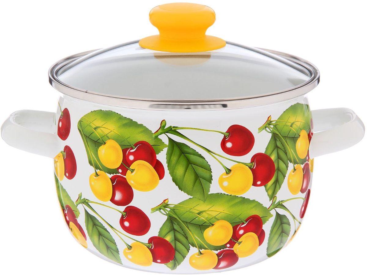 Кастрюля Epos Вкусняшка, с крышкой, 3,5 л2293346Эмалированная кастрюля пригодится вам для быстрого приготовления разных типов блюд. Такая посуда подходит для домашнего и профессионального использования.Достоинства:посуда быстро и равномерно нагревается;корпус стоек к ржавчине;изделие легко отмывается в посудомоечной машине.Благодаря приятным цветам кастрюля удачно впишется в любой дизайн интерьера. Наилучшее качество покрытия достигается за счёт того, что посуда проходит обжиг при температуре до 800 градусов.Чтобы предмет сохранял наилучшие эксплуатационные свойства, соблюдайте правила ухода:избегайте ударов и падений;не пользуйтесь высокоабразивными чистящими средствами;не допускайте резких перепадов температуры.Посуда подходит для долговременного хранения пищи.