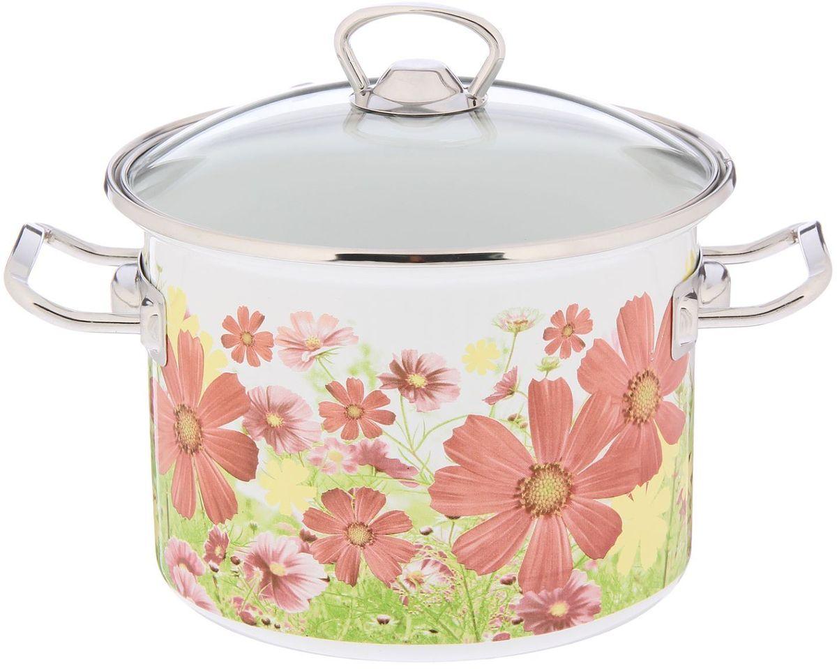 Кастрюля Epos Барыня, с крышкой, 3 л2293376Эмалированная кастрюля пригодится вам для быстрого приготовления разных типов блюд. Такая посуда подходит для домашнего и профессионального использования.Кастрюля цилиндрическая — помощь на кухне на долгие годы.Достоинства:посуда быстро и равномерно нагревается;корпус стоек к ржавчине;изделие легко отмывается в посудомоечной машине.Благодаря приятным цветам кастрюля удачно впишется в любой дизайн интерьера. Наилучшее качество покрытия достигается за счёт того, что посуда проходит обжиг при температуре до 800 градусов.Чтобы предмет сохранял наилучшие эксплуатационные свойства, соблюдайте правила ухода:избегайте ударов и падений;не пользуйтесь высокоабразивными чистящими средствами;не допускайте резких перепадов температуры.Посуда подходит для долговременного хранения пищи.