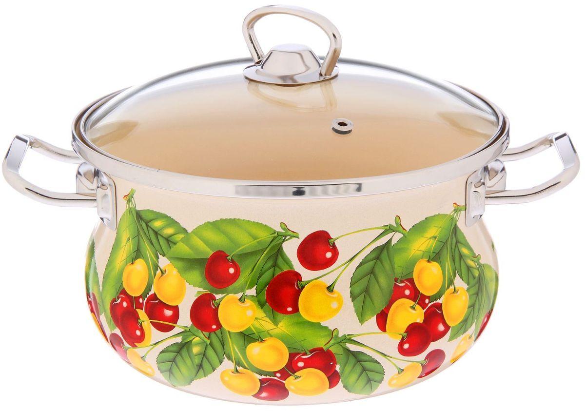 Кастрюля Epos Бежевая вкусняшка, с крышкой, 2,5 л2293383Эмалированная кастрюля пригодится вам для быстрого приготовления разных типов блюд. Такая посуда подходит для домашнего и профессионального использования.Кастрюля цилиндрическая — помощь на кухне на долгие годы.Достоинства:посуда быстро и равномерно нагревается;корпус стоек к ржавчине;изделие легко отмывается в посудомоечной машине.Благодаря приятным цветам кастрюля удачно впишется в любой дизайн интерьера. Наилучшее качество покрытия достигается за счёт того, что посуда проходит обжиг при температуре до 800 градусов.Чтобы предмет сохранял наилучшие эксплуатационные свойства, соблюдайте правила ухода:избегайте ударов и падений;не пользуйтесь высокоабразивными чистящими средствами;не допускайте резких перепадов температуры.Посуда подходит для долговременного хранения пищи.