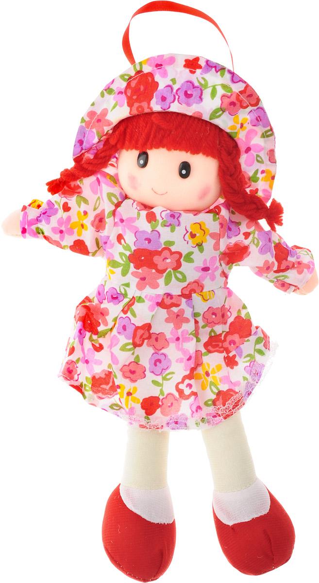 Sima-land Мягкая кукла в платье и шляпке цвет красный sima land мягкая игрушка сердце 309576