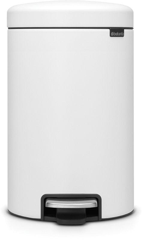 Бак мусорный Brabantia NewIcon, с педалью, цвет: белый, 12 л113789• Коллекция Sense of Luxury.• Плавное закрывание и необыкновенно мягкий ход педали.• Не пропускающая запах крышка.• Надежный долговечный педальный механизм – комфортное использование в течение долгих лет. • Противоскользящее основание – отличная устойчивость и защита пола. • Легко перемещать – удобная ручка в блоке крепления крышки.• Одна бесплатная упаковка мешков для мусора Brabantia PerfectFit (размер С) – удобная замена и всегда опрятный вид.• 10 лет гарантийного обслуживания.• Превосходный дизайн – сверкающие минералы. • Металлическая педаль подчеркивает индивидуальность стиля. • Сертификат Cradle to cradle.