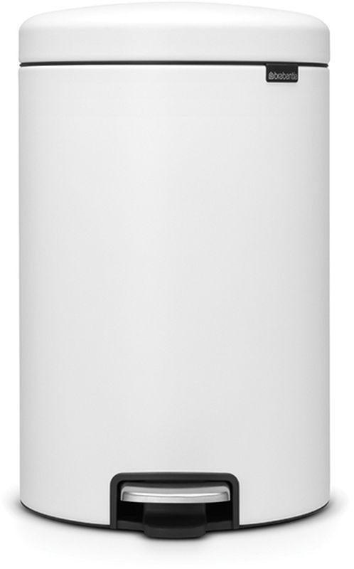 Бак мусорный Brabantia NewIcon, с педалью, цвет: белоснежный, с напылением, 20 л. 114168114168• Коллекция Sense of Luxury.• Плавное закрывание и необыкновенно мягкий ход педали.• Не пропускающая запах крышка.• Надежный долговечный педальный механизм – комфортное использование в течение долгих лет. • Противоскользящее основание – отличная устойчивость и защита пола. • Легко перемещать – удобная ручка в блоке крепления крышки.• Одна бесплатная упаковка мешков для мусора Brabantia PerfectFit (размер С) – удобная замена и всегда опрятный вид.• 10 лет гарантийного обслуживания.• Превосходный дизайн – сверкающие минералы. • Металлическая педаль подчеркивает индивидуальность стиля. • Сертификат Cradle to cradle.