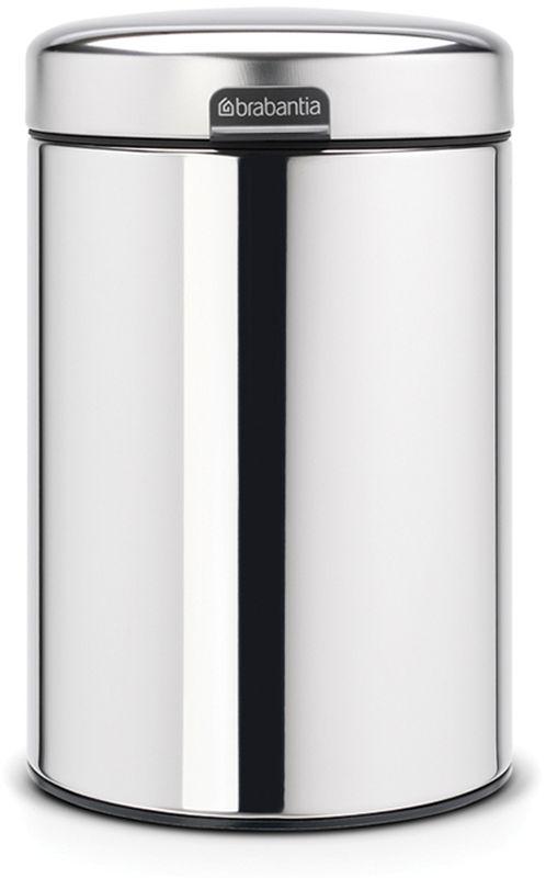 Бак мусорный Brabantia NewIcon, настенный, цвет: стальной полированный, 3 л. 115547115547Механизм плавного открывания. Удобная очистка - съемное внутреннее пластиковое ведро. Не пропускающая запах бесшумная крышка. Бак легко снимается с настенного кронштейна для тщательной очистки. Изготовлен из устойчивых к коррозии материалов. Всегда опрятный вид - в комплекте идеально подходящие по размеру мешки для мусора PerfectFit (размер A).