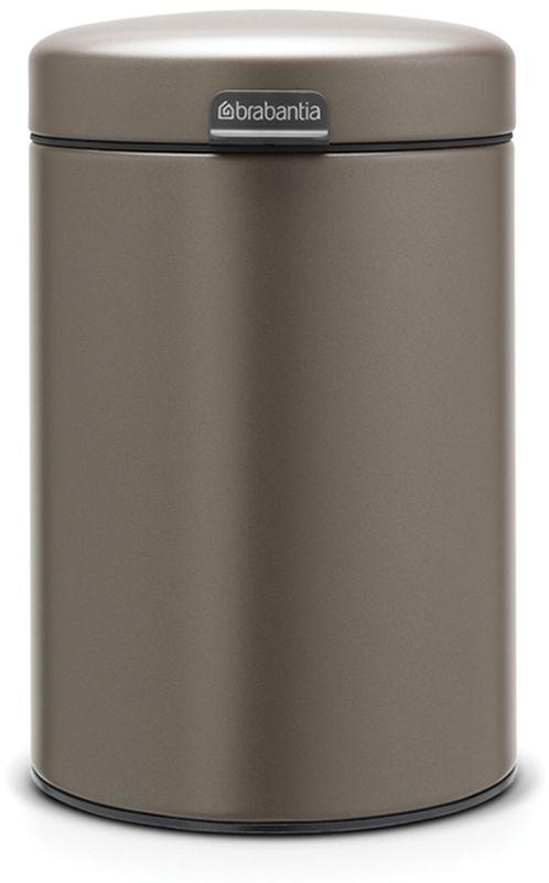 Бак мусорный Brabantia NewIcon, настенный, цвет: платиновый, 3 л. 116223116223Механизм плавного открывания. Удобная очистка - съемное внутреннее пластиковое ведро. Не пропускающая запах бесшумная крышка. Бак легко снимается с настенного кронштейна для тщательной очистки. Изготовлен из устойчивых к коррозии материалов. Всегда опрятный вид - в комплекте идеально подходящие по размеру мешки для мусора PerfectFit (размер A).