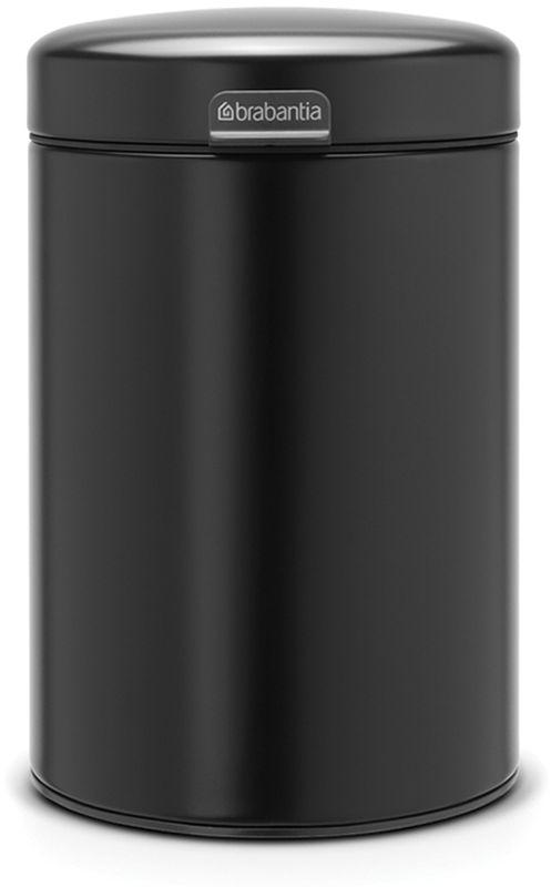 Бак мусорный Brabantia NewIcon, настенный, цвет: черный, 3 л. 116247116247Механизм плавного открывания.Удобная очистка - съемное внутреннее пластиковое ведро.Не пропускающая запах бесшумная крышка.Бак легко снимается с настенного кронштейна для тщательной очистки.Изготовлен из устойчивых к коррозии материалов.Всегда опрятный вид - в комплекте идеально подходящие по размеру мешки для мусора PerfectFit (размер A).