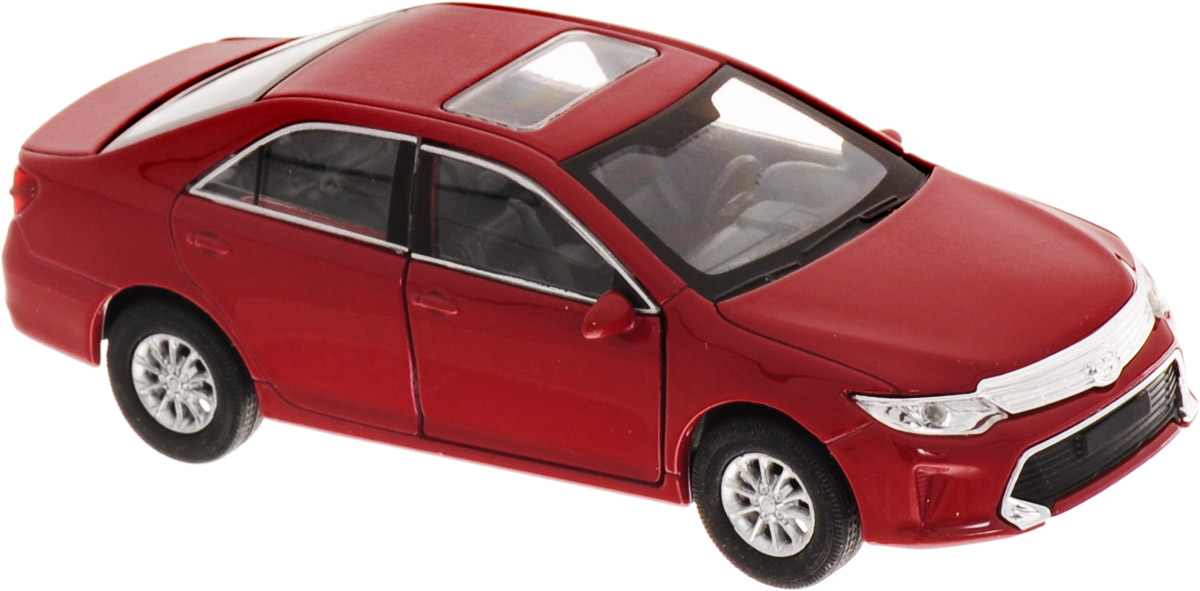 Welly Модель автомобиля Toyota Camry цвет бордовый welly модель автомобиля audi r8 v10 цвет красный