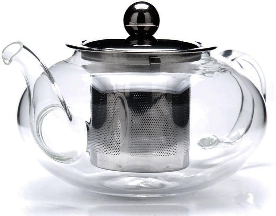 Чайник заварочный Mayer&Boch, 600 мл. 2680526805Заварочный чайник Mayer & Boch изготовлен из термостойкого боросиликатного стекла, фильтр выполнен из нержавеющей стали. Изделия из стекла не впитывают запахи, благодаря чему вы всегда получите натуральный, насыщенный вкус и аромат напитков. Заварочный чайник из стекла удобно использовать для повседневного заваривания чая практически любого сорта. Но цветочные, фруктовые, красные и желтые сорта чая лучше других раскрывают свой вкус и аромат при заваривании именно в стеклянных чайниках, а также сохраняют все полезные ферменты и витамины, содержащиеся в чайных листах. Стальной фильтр гарантирует прозрачность и чистоту напитка от чайных листьев, при этом сохранив букет и насыщенность чая. Прозрачные стенки чайника дают возможность насладиться насыщенным цветом заваренного чая. Изящный заварочный чайник Mayer & Boch будет прекрасно смотреться в любом интерьере. Подходит для мытья в посудомоечной машине.