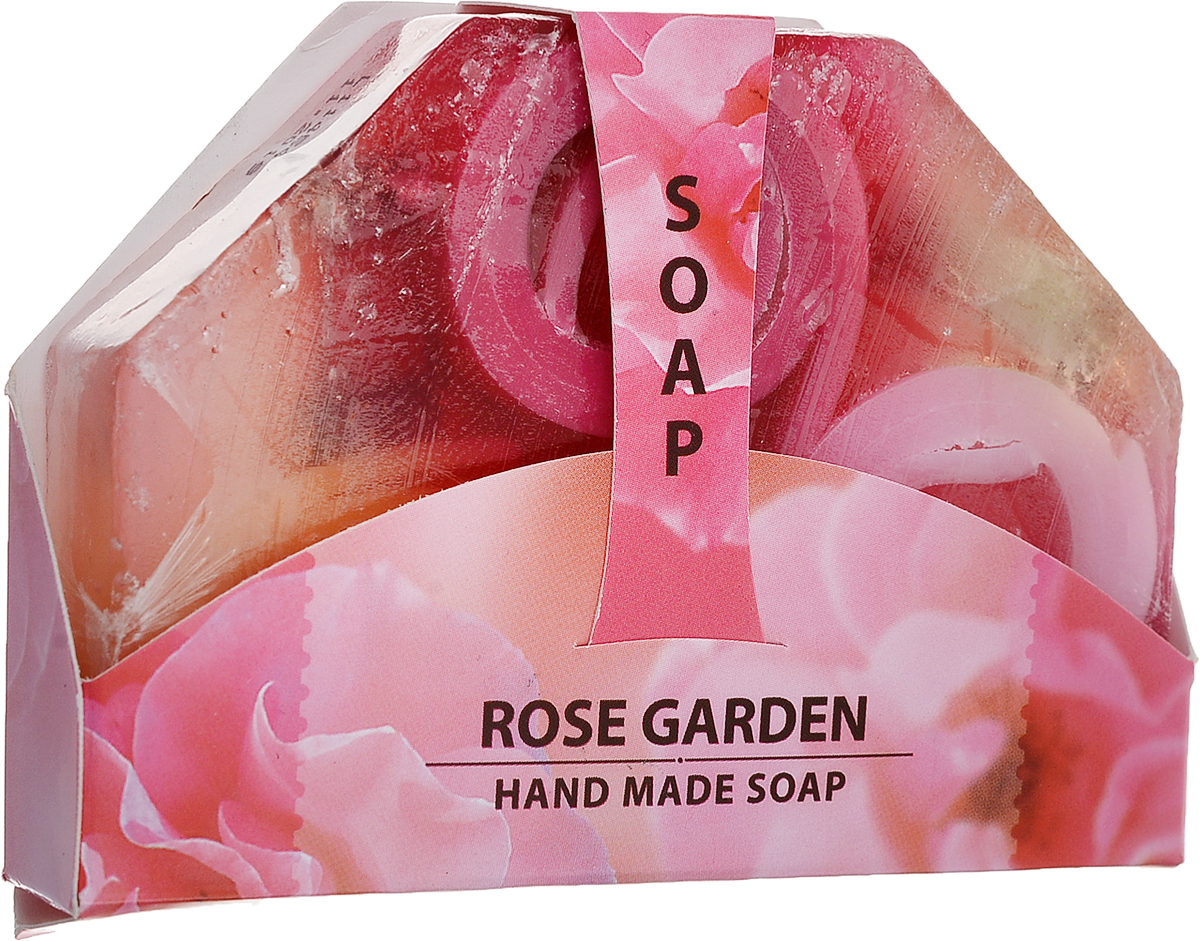 Мыло ручной работы Розовый сад Hand made spa collection, 80 г11Мыло из нежного природного пальмового масла, содержит натуральное болгарское розовое масло. Имеет приятный аромат розы, который наполнит вашу душу удовольствием. Наслаждайтесь гладкостью кожи после каждого использования. Очищает и тонизирует кожу, делая ее бархатистой.