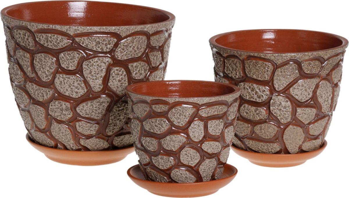 Комнатные растения — всеобщие любимцы. Они радуют глаз, насыщают помещение кислородом и украшают пространство. Каждому из них необходим свой удобный и красивый дом. Кашпо из керамики прекрасно подходят для высадки растений: за счет пластичности глины и разных способов обработки существует великое множество форм и дизайнов пористый материал позволяет испаряться лишней влаге воздух, необходимый для дыхания корней, проникает сквозь керамические стенки! позаботится о зеленом питомце, освежит интерьер и подчеркнет его стиль.