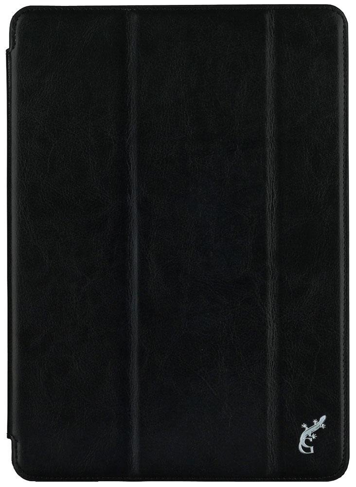 G-Case Slim Premium чехол для iPad 9.7 (2017), BlackGG-798Чехол G-case Slim Premium для планшета Apple iPad 9.7 (2017) надежно защищает ваше устройство от случайных ударов и царапин, а так же от внешних воздействий, грязи, пыли и брызг. Крышку можно использовать в качестве настольной подставки для вашего устройства. Чехол приятен на ощупь и имеет стильный внешний вид.Он также обеспечивает свободный доступ ко всем функциональным кнопкам планшета и камере.