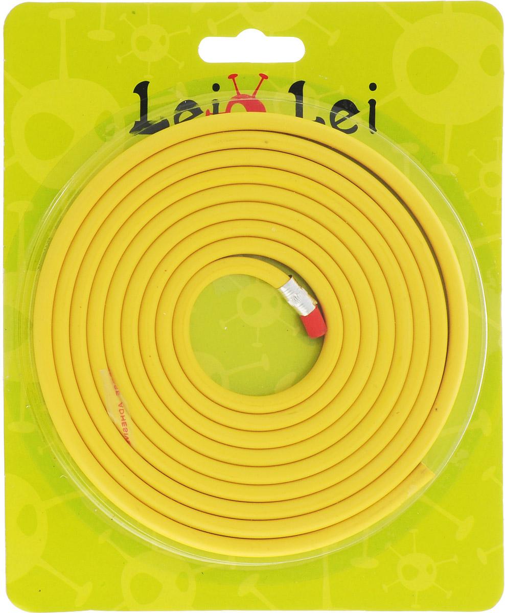 Эврика Карандаш чернографитный гибкий цвет корпуса желтый94653Карандаш, который можно завязывать в узел или заплетать косичкой, - символ гибкости мышления, творческой изобретательности и новаторства.Специально разработанный эластичный графит в оболочке позволяет наносить надписи, чертежи или рисунки, не боясь, что хрупкий грифель сломается при падении или от неловкого нажатия.При необходимости можно разрезать карандаш на множество небольших частей, удобных по размеру для использования.Гибкий карандаш легко затачивается обычной точилкой.