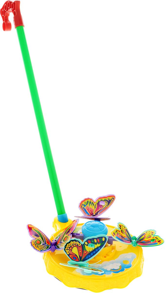 Тилибом Игрушка-каталка Бабочки цвет желтый смеситель для раковины oras optima 1714f