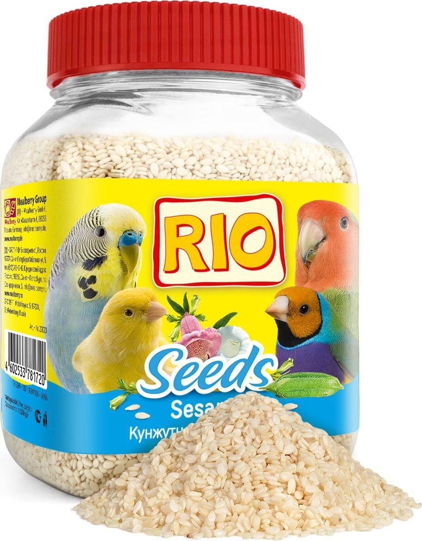 Лакомство для всех видов птиц RIO Кунжут, 250 г кунжут royal forest