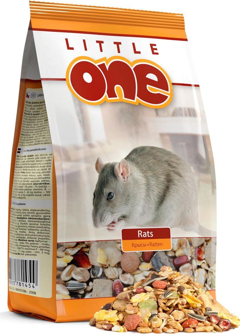 Корм для крыс Little One, 900 г корм little one для крыс 400 гр