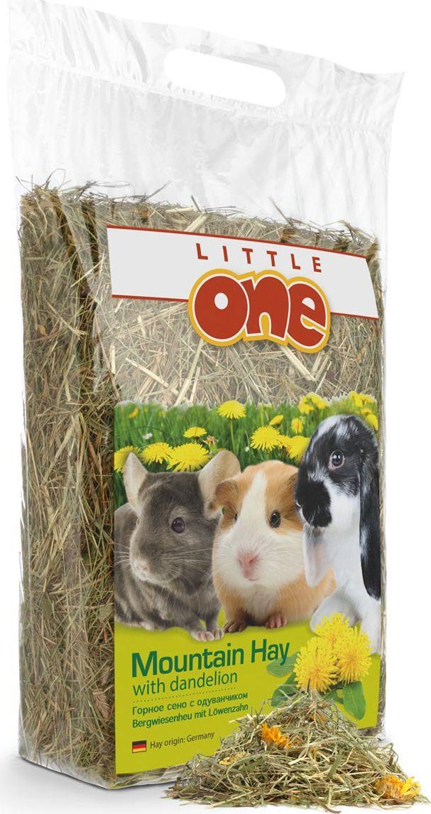 Горное сено Little One, с одуванчиком, 400 г куплю сено в тюках 2013