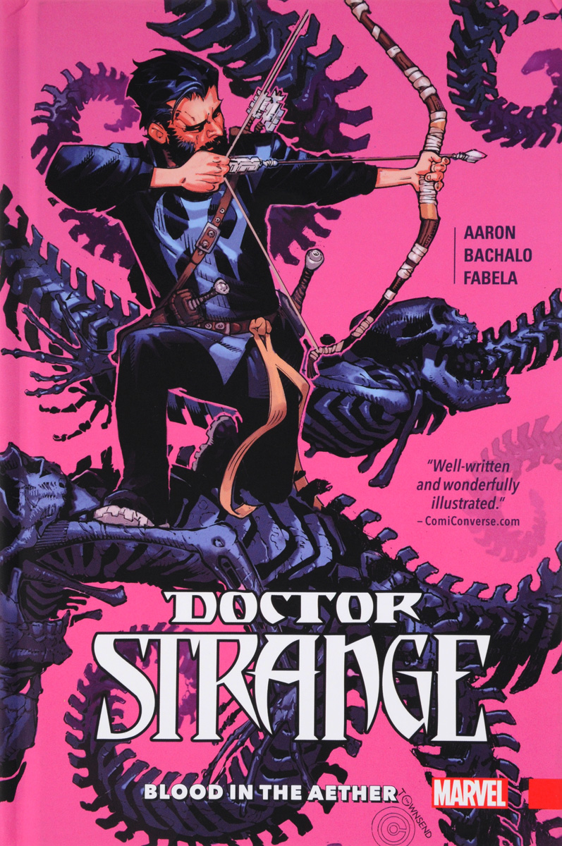 Doctor Strange Volume 3: Blood In The Aether on murder considered as one of the fine arts
