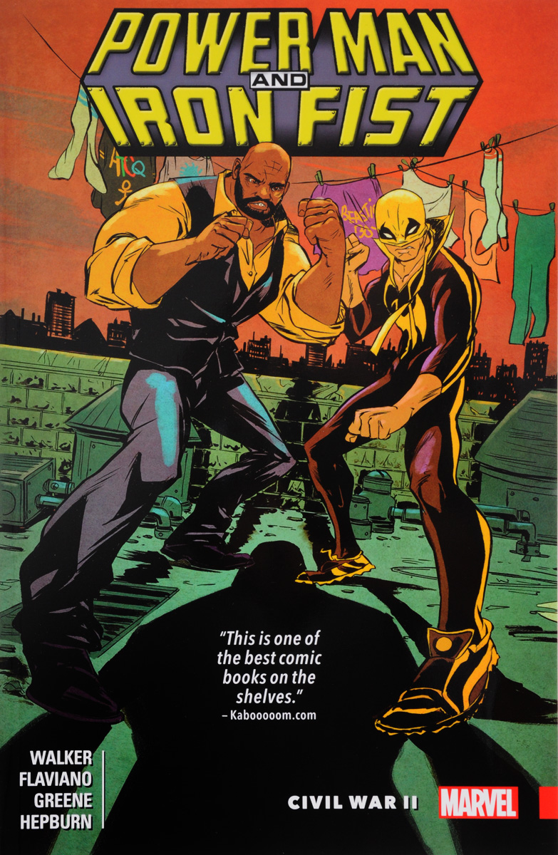 Power Man and Iron Fist: Volume 2: Civil War II 5x7ft thin vinyl fabric computer printed photography background wood floor photo backdrops for photo studio fotografia 176