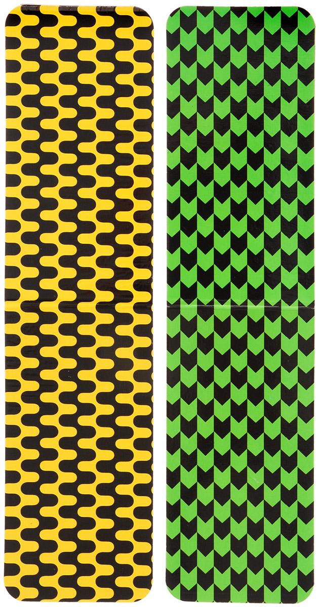 Феникс+ Набор магнитных закладок Цветная фактура 2 шт Феникс+