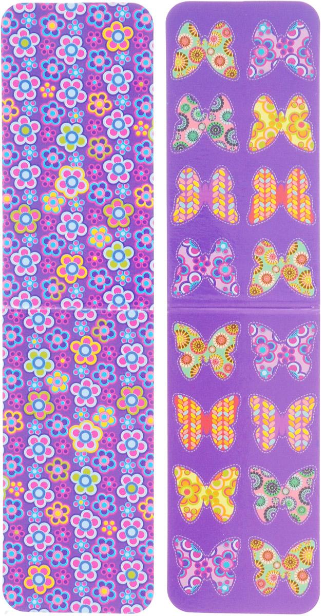 Феникс+ Набор магнитных закладок Бабочки и цветы 2 шт Феникс+