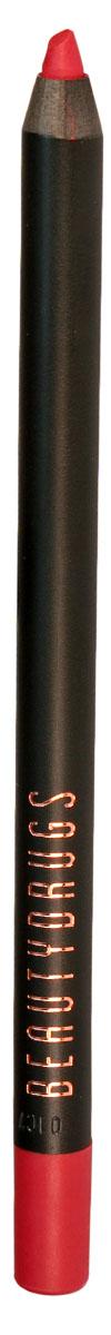 Beautydrugs Карандаш для губ Lip Pencil 05 Extasy00014Карандаш для губ Beautygrugs станет верным помощником при создании демократичного дневного или эффектного вечернего образа. Его можно использовать в качестве помады, а также для создания контура и визуального увеличения губ. Благодаря стойкому пигменту и мягкому грифелю, можно экспериментировать с модными техниками контуринга губ, создавая плавные градиентные переходы или соблазнительное омбре.Преимущества:Благодаря попарным оттенкам карандашей Beautygrugs Lip Pencil от нежного нюда до провокационного красного, можно подобрать собственный идеальный дуэт, прекрасно подходящий для дневного или вечернего макияжа губ.Карандаш обладает стойкой высокопигментированной формулой.Lip Pencil легко скользит по губам и не сушит кожу.Продукт стойко держится на губах, но, при этом. отлично растушевывается, позволяя воплотить любую идею макияжа губ.Формула богата витаминами С, Е и антиоксидантами: карандаш не только дарит сочный цвет, но и ухаживает за губами, надежно удерживая влагу и предотвращая появление трещинок и шелушений.Продукт не содержит парабен.