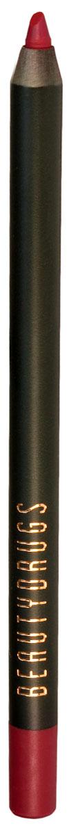 Beautydrugs Карандаш для губ Lip Pencil 06 Drive00015Карандаш для губ Beautygrugs станет верным помощником при создании демократичного дневного или эффектного вечернего образа. Его можно использовать в качестве помады, а также для создания контура и визуального увеличения губ. Благодаря стойкому пигменту и мягкому грифелю, можно экспериментировать с модными техниками контуринга губ, создавая плавные градиентные переходы или соблазнительное омбре.Преимущества:Благодаря попарным оттенкам карандашей Beautygrugs Lip Pencil от нежного нюда до провокационного красного, можно подобрать собственный идеальный дуэт, прекрасно подходящий для дневного или вечернего макияжа губ.Карандаш обладает стойкой высокопигментированной формулой.Lip Pencil легко скользит по губам и не сушит кожу.Продукт стойко держится на губах, но, при этом. отлично растушевывается, позволяя воплотить любую идею макияжа губ.Формула богата витаминами С, Е и антиоксидантами: карандаш не только дарит сочный цвет, но и ухаживает за губами, надежно удерживая влагу и предотвращая появление трещинок и шелушений.Продукт не содержит парабен.