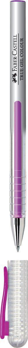 Faber-Castell Ручка гелевая True Gel цвет чернил фиолетовый faber castell перьевая ручка ambition opart flamingo