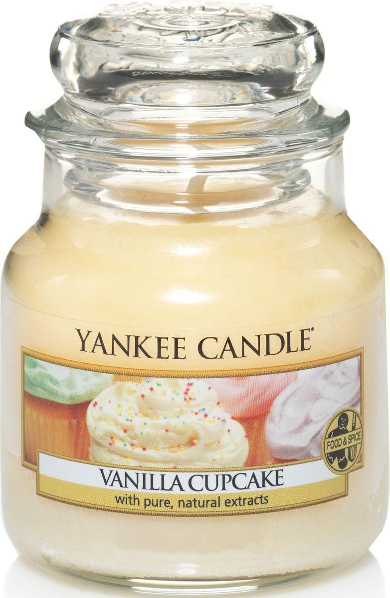 Ароматическая свеча Yankee Candle Ванильный кекс / Vanilla Cupcake, 25-45 ч tomas stern ts 7021