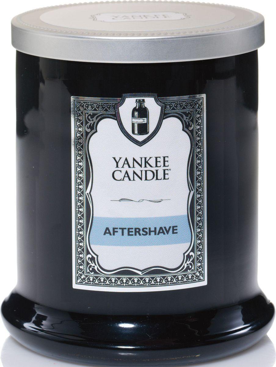 Ароматическая свеча Yankee Candle Barbershop После бритья / Aftershave, 45 ч ароматическая свеча yankee candle cuban mojito medium jar candle объем 411 г