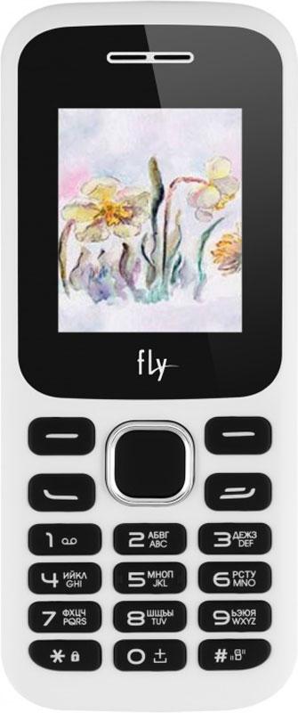 Fly FF178, White9477Мобильный телефон Fly FF178 оснащен 1,77-дюймовым экраном, созданным с применением технологии TN. За счет этого изображение на нем выглядит четким, ярким и контрастным.Встроенный проигрыватель дает возможность воспроизводить аудио- и видеофайлы популярных форматов. Кроме того, телефон можно использовать в качестве миниатюрного радиоприемника. Модель FF178 читает MP3-файлы и поддерживает работу с картами памяти на 16 Гб. Мобильный телефон помогает экономить на оплате счетов за услуги связи. Он поддерживает две SIM-карты стандартных размеров, позволяя менять операторов или тарифы в зависимости от ситуации.Телефон оснащен емким аккумулятором 1800 мАч. Максимальная продолжительность работы устройства в режиме ожидания - 360 часов (приблизительно 15 суток). При разговоре батареи хватает на 7 часов.Телефон сертифицирован EAC и имеет русифицированную клавиатуру, меню и Руководство пользователя.