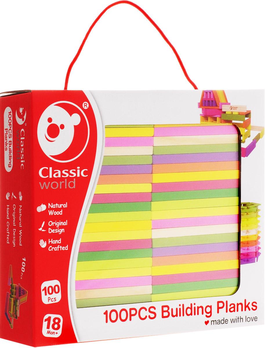 Classic World Конструктор Цветные планки