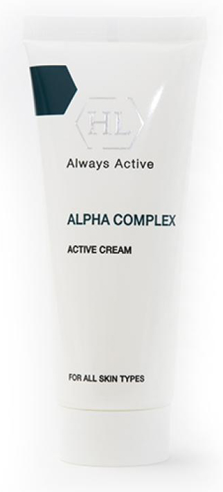 Holy Land Активный крем Alpha Complex Active Cream, 70 мл holy land alpha complex multifruit system day defense cream spf 15 дневной защитный крем 50 мл