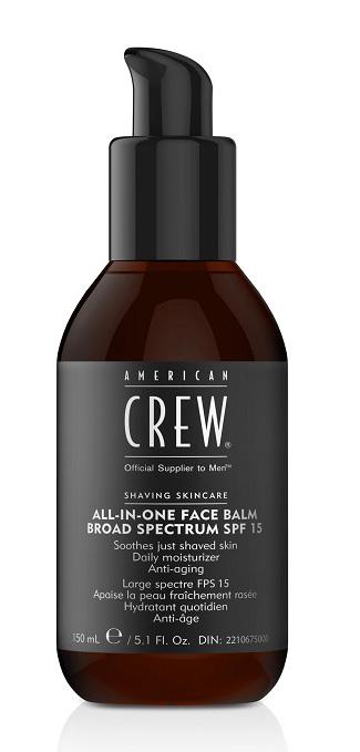 American Crew Увлажняющий бальзам для лица All in One Face Balm SPF 15, 170 мл7222203000