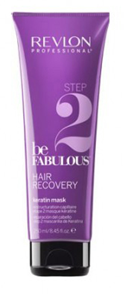 Revlon Professional Be Fabulous Hair Recovery Keratin Mask Step 2 Шаг 2. Маска с кератином, 250 мл недорого
