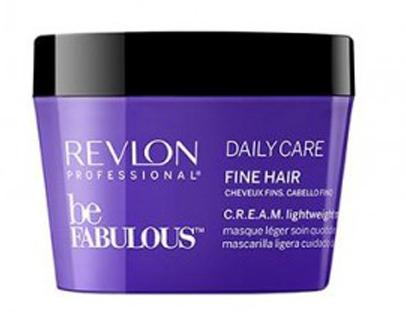 Revlon Professional Be Fabulous C.R.E.A.M. Mask For Fine Hair Маска для тонких волос, 200 мл7222480000Мультиухаживающая маска для тонких волос испанского бренда Revlon Professioanal. Содержит QUATERNIUM-22, кератин, пантенол, витамин Е и бетаин. Предназначена для частого применения, обладает мультиухаживающим эффектом: обеспечивает сохранение цвета (за счет комплекса УФ-фильтров), восстановление (кератин в составе), блеск без утяжеления (благодаря пантенолу), антивозрастной эффект (витамин Е) и увлажнение (бетаин). Имеет приятное сочетание ароматов бергамота, мускуса, фрезии.Применение: нанести небольшой объем маски для тонких волос Revlon, оставить на 3-5 минут, тщательно промыть теплой водой. Для достижения эффекта профессионально ухоженных сияющих волос рекомендуется дополнительное использование очищающего шампуня и кондиционера для тонких волос серии Be Fabulous Cream Revlon.Объем: 500 мл