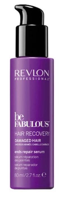Revlon Professional Be Fabulous C.R.E.A.M. Recovery Ends Repair Serum Восстанавливающая сыворотка для кончиков волос, 80 мл7222485000Восстанавливающая сыворотка для ослабленных волос испанского бренда Revlon Professioanal. Запечатывает кутикулу волоса, придает сияние и послушность. Ломкость волос значительно снижается. Содержит QUATERNIUM-22, кератин, пантенол, витамин Е и бетаин. Предназначена для ежедневного питания и ухода за ослабленными и поврежденными волосами. Обеспечивает сохранение цвета (за счет комплекса УФ-фильтров), восстановление (кератин в составе), блеск без утяжеления (благодаря пантенолу), антивозрастной эффект (витамин Е) и увлажнение (бетаин). Имеет приятное сочетание ароматов бергамота, мускуса, фрезии.Применение: нанести восстанавливающую сыворотку Revlon по всей длине вымытых подсушенных волос, не смывать, уложить как обычно. Для достижения эффекта профессионально ухоженных сияющих волос рекомендуется дополнительное использование очищающего шампуня и кондиционера с кератином серии Be Fabulous Cream Revlon.Объем: 80 мл