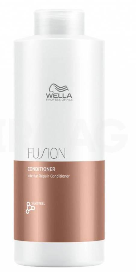 Wella Professionals Fusion Conditioner Интенсивно восстанавливающий бальзам, 1000 мл81616677Бальзам мгновенно улучшает состояние волос, подверженных механически повреждениями. Бальзам способствует легкому расчесыванию, делает волосы гладкими и эластичными. В составе средства - аминокислоты шелка.Бальзам из новой линии для интенсивного восстановления волос представляет собой средство ухода из 3-этапного сервиса длительностью 20 минут, который включает в себя - подготовку (очищение), уход и запечатывание кутикулы волоса (может проводиться с применением климазона или вапоризатора). Эта изысканная премиальная процедура с применением эксклюзивной амино-сыворотки Fusion способствует интенсивному восстановлению волос, делает их эластичными и защищает от дальнейших повреждений.Способ применения: Нанесите на влажные, вымытые волосы. Оставьте на 30 секунд и затем тщательно смойте.Объем: 1000 мл