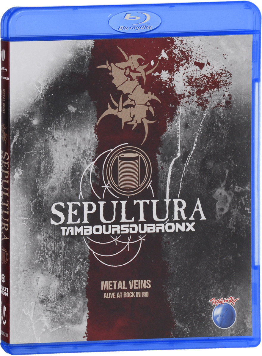 Sepultura: Metal Veins / Alive At Rock In Rio cotton ralph payback at big silver