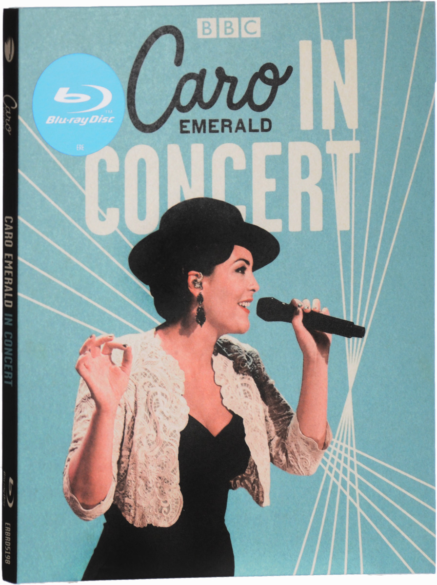 Caro Emerald: In Concert (Blu-ray) the berlin concert domingo netrebko villazon blu ray