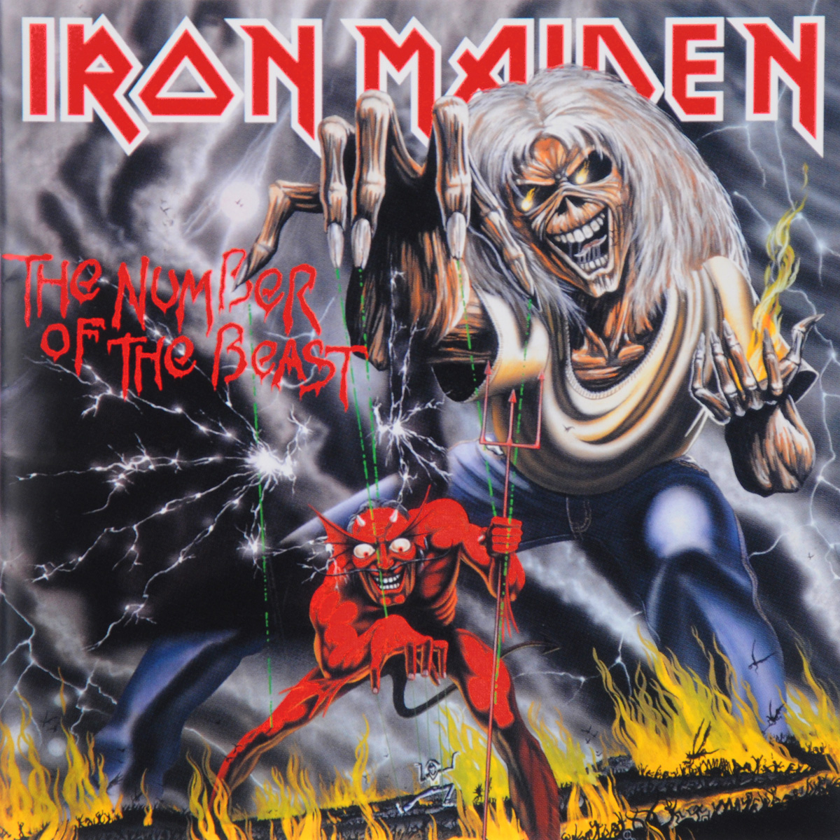Iron Maiden Iron Maiden. Number Of The Beast (ECD) cd iron maiden the number of the beast