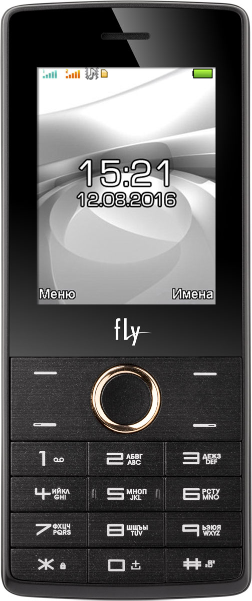 Fly FF244, Champagne9613Мобильный телефон Fly FF244 оснащен 2,4-дюймовым полноцветным дисплеем, удобным для повседневного использования. Применение технологии TN QVGA делает изображение на нем ярким и контрастным в любой ситуации.Встроенное ПО устройства позволяет воспроизводить аудио- и видеофайлы в популярных форматах, а также прослушивать любимые радиопередачи. Мультимедийные файлы можно записывать на карту памяти microSD емкостью до 16 Гб.Полного заряда аккумулятора хватает на 10 часов непрерывного разговора или 500 часов работы в режиме ожидания.Телефон оснащен камерой на 0,3 Мпикс с функцией записи видео, а также Bluetooth-модулем, предназначенным для беспроводной передачи данных.Поддержка двух SIM-карт позволяет использовать телефон в качестве личного и рабочего одновременно. Кроме того, с двумя SIM-картами можно уменьшать расходы, управляя тарифными планами различных мобильных операторов.Телефон сертифицирован EAC и имеет русифицированную клавиатуру, меню и Руководство пользователя.