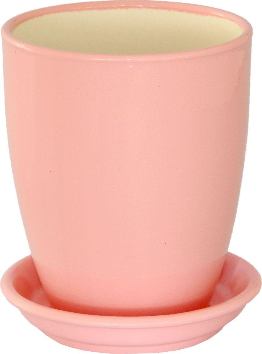 Кашпо Керамика ручной работы Мари, для орхидеи, цвет: розовый, 1,3 л1099347Комнатные растения - всеобщие любимцы. Они радуют глаз, насыщают помещение кислородом и украшают пространство. Каждому из них необходим свой удобный и красивый дом. Кашпо из керамики прекрасно подходят для высадки растений:пористый материал позволяет испаряться лишней влаге;воздух, необходимый для дыхания корней, проникает сквозь керамические стенки. Кашпо для орхидеи Мари позаботится о зеленом питомце, освежит интерьер и подчеркнет его стиль.