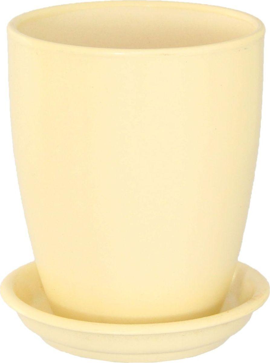 Кашпо Керамика ручной работы Мари, для орхидеи, цвет: бежевый, 1,3 л1099348Комнатные растения - всеобщие любимцы. Они радуют глаз, насыщают помещение кислородом и украшают пространство. Каждому из них необходим свой удобный и красивый дом. Кашпо из керамики прекрасно подходят для высадки растений:пористый материал позволяет испаряться лишней влаге;воздух, необходимый для дыхания корней, проникает сквозь керамические стенки. Кашпо для орхидеи Мари позаботится о зеленом питомце, освежит интерьер и подчеркнет его стиль.