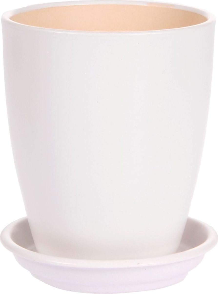 Кашпо Керамика ручной работы Мари, для орхидеи, цвет: белый, 1,3 л1099349Комнатные растения - всеобщие любимцы. Они радуют глаз, насыщают помещение кислородом и украшают пространство. Каждому из них необходим свой удобный и красивый дом. Кашпо из керамики прекрасно подходят для высадки растений:пористый материал позволяет испаряться лишней влаге;воздух, необходимый для дыхания корней, проникает сквозь керамические стенки. Кашпо для орхидеи Мари позаботится о зеленом питомце, освежит интерьер и подчеркнет его стиль.