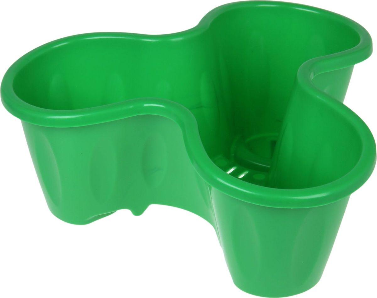 Кашпо ЗАО Пластик, 1 ярус, цвет: салатовый, 49 х 19 х 49 см1108907Любой, даже самый современный и продуманный интерьер будет не завершённым без растений. Они не только очищают воздух и насыщают его кислородом, но и заметно украшают окружающее пространство. Такому полезному &laquo члену семьи&raquoпросто необходимо красивое и функциональное кашпо, оригинальный горшок или необычная ваза! Мы предлагаем - Кашпо многоярусное, 1 ярус, цвет салатовый!Оптимальный выбор материала &mdash &nbsp пластмасса! Почему мы так считаем? Малый вес. С лёгкостью переносите горшки и кашпо с места на место, ставьте их на столики или полки, подвешивайте под потолок, не беспокоясь о нагрузке. Простота ухода. Пластиковые изделия не нуждаются в специальных условиях хранения. Их&nbsp легко чистить &mdashдостаточно просто сполоснуть тёплой водой. Никаких царапин. Пластиковые кашпо не царапают и не загрязняют поверхности, на которых стоят. Пластик дольше хранит влагу, а значит &mdashрастение реже нуждается в поливе. Пластмасса не пропускает воздух &mdashкорневой системе растения не грозят резкие перепады температур. Огромный выбор форм, декора и расцветок &mdashвы без труда подберёте что-то, что идеально впишется в уже существующий интерьер.Соблюдая нехитрые правила ухода, вы можете заметно продлить срок службы горшков, вазонов и кашпо из пластика: всегда учитывайте размер кроны и корневой системы растения (при разрастании большое растение способно повредить маленький горшок)берегите изделие от воздействия прямых солнечных лучей, чтобы кашпо и горшки не выцветалидержите кашпо и горшки из пластика подальше от нагревающихся поверхностей.Создавайте прекрасные цветочные композиции, выращивайте рассаду или необычные растения, а низкие цены позволят вам не ограничивать себя в выборе.