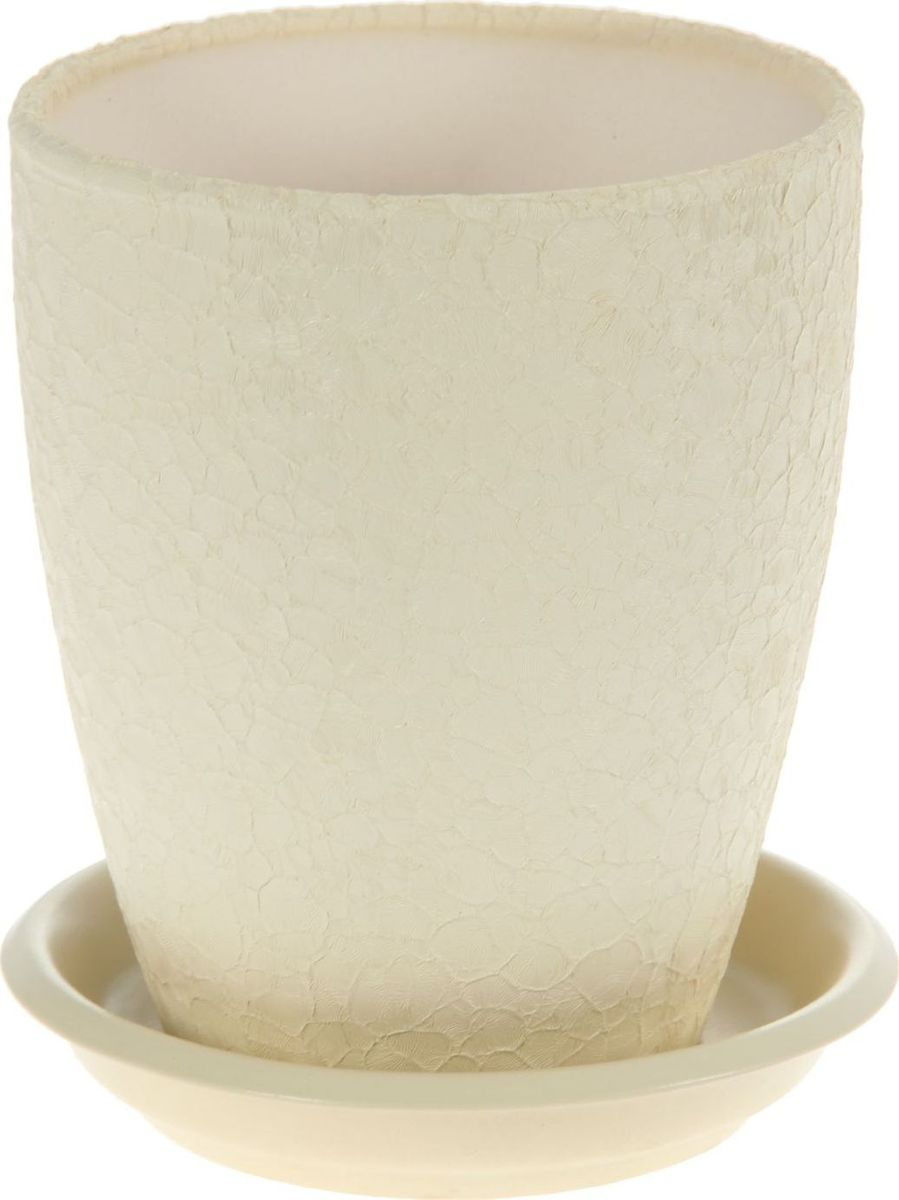 Кашпо Керамика ручной работы Мари, для орхидеи, цвет: бежевый, 1,3 л. 11368941136894Комнатные растения - всеобщие любимцы. Они радуют глаз, насыщают помещение кислородом и украшают пространство. Каждому из них необходим свой удобный и красивый дом. Кашпо из керамики прекрасно подходят для высадки растений:пористый материал позволяет испаряться лишней влаге;воздух, необходимый для дыхания корней, проникает сквозь керамические стенки. Кашпо для орхидеи Мари позаботится о зеленом питомце, освежит интерьер и подчеркнет его стиль.