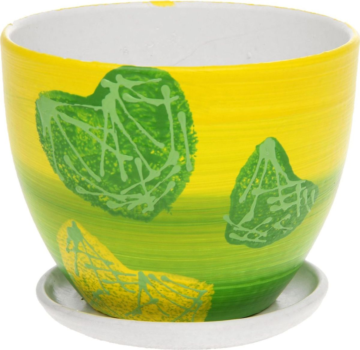 Кашпо Биколор, цвет: зеленый, 1,1 л1138526Комнатные растения — всеобщие любимцы. Они радуют глаз, насыщают помещение кислородом и украшают пространство. Каждому из них необходим свой удобный и красивый дом. Кашпо из керамики прекрасно подходят для высадки растений: за счёт пластичности глины и разных способов обработки существует великое множество форм и дизайновпористый материал позволяет испаряться лишней влагевоздух, необходимый для дыхания корней, проникает сквозь керамические стенки! #name# позаботится о зелёном питомце, освежит интерьер и подчеркнёт его стиль.