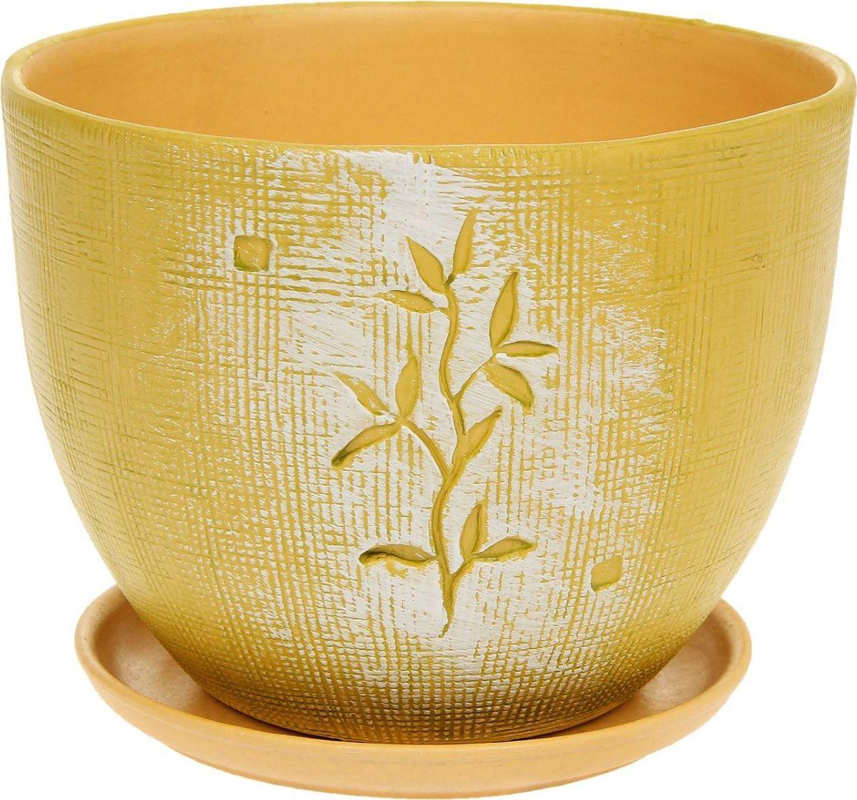 Кашпо Росток, 2 л1138691Комнатные растения — всеобщие любимцы. Они радуют глаз, насыщают помещение кислородом и украшают пространство. Каждому из них необходим свой удобный и красивый дом. Кашпо из керамики прекрасно подходят для высадки растений: за счёт пластичности глины и разных способов обработки существует великое множество форм и дизайновпористый материал позволяет испаряться лишней влагевоздух, необходимый для дыхания корней, проникает сквозь керамические стенки! #name# позаботится о зелёном питомце, освежит интерьер и подчеркнёт его стиль.